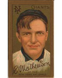 Christopher Mathewson, New York Giants, ... by American Tobacco Company