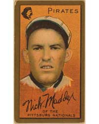 Nicholas Maddox, Pittsburgh Pirates, Bas... by American Tobacco Company
