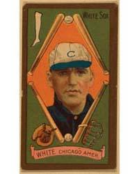G. H. White, Chicago White Sox, Baseball... by American Tobacco Company