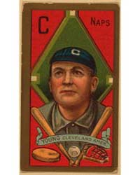 Cy Young, Cleveland Naps, Baseball Card ... by American Tobacco Company