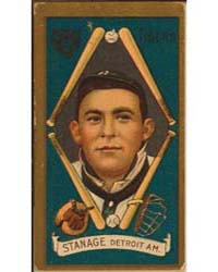 Oscar Stanage, Detroit Tigers, Baseball ... by American Tobacco Company