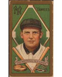 Charles Hemphill, New York Yankees, Base... by American Tobacco Company