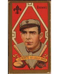 Frank Laporte, St. Louis Browns, Basebal... by American Tobacco Company