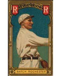 Henry Batch, Rochester Team, Baseball Ca... by American Tobacco Company