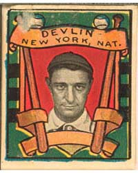 Art Devlin, New York Giants by Helmar Tobacco Company