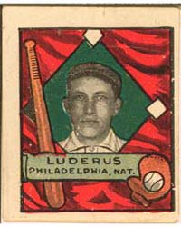 Fred Luderus, Philadelphia Phillies by Helmar Tobacco Company