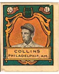 Eddie Collins, Philadelphia Athletics by Helmar Tobacco Company