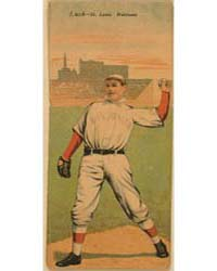 Ernest Lush/A. J. Hauser, St. Louis Card... by American Tobacco Company