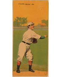 Edward V. Cicotte/John Thoney, Boston Re... by American Tobacco Company