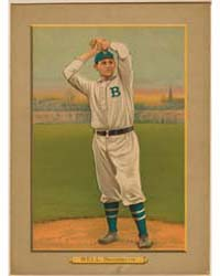 George Bell, Brooklyn Dodgers by American Tobacco Company