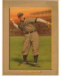 Joe Tinker, Chicago Cubs by American Tobacco Company