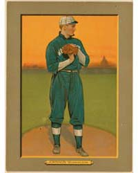 Walter Johnson, Washington Nationals by American Tobacco Company
