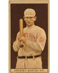 William J. Sweeney, Boston Braves, Baseb... by American Tobacco Company