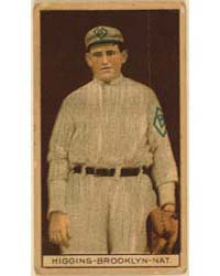 Robert Higgins, Brooklyn Dodgers, Baseba... by American Tobacco Company
