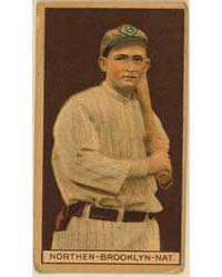 Herbert Northen, Brooklyn Dodgers, Baseb... by American Tobacco Company