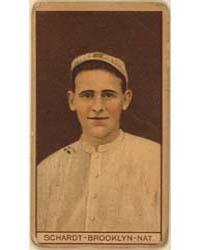 Wilbur Schardt, Brooklyn Dodgers, Baseba... by American Tobacco Company