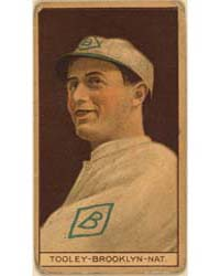 Bert Tooley, Brooklyn Dodgers, Baseball ... by American Tobacco Company