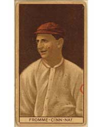 Arthur Fromme, Cincinnati Reds, Baseball... by American Tobacco Company
