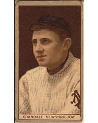 Otis Crandall, New York Giants, Baseball... by American Tobacco Company
