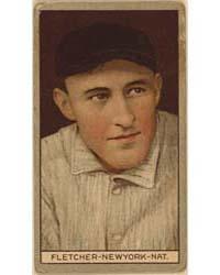 Arthur Fletcher, New York Giants, Baseba... by American Tobacco Company