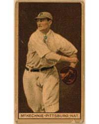 William McKechnie, Pittsburgh Pirates, B... by American Tobacco Company