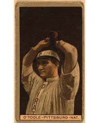 Martin J. O'Toole, Pittsburgh Pirates, B... by American Tobacco Company