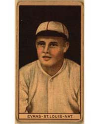 Louis Evans, St. Louis Cardinals, Baseba... by American Tobacco Company