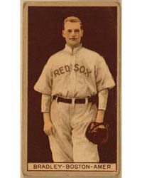 Hugh Bradley, Boston Red Sox, Baseball C... by American Tobacco Company