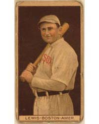 Duffy Lewis, Boston Red Sox, Baseball Ca... by American Tobacco Company