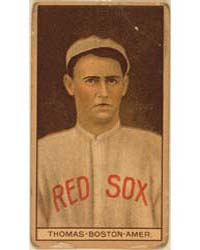 C. D. Thomas, Boston Red Sox, Baseball C... by American Tobacco Company