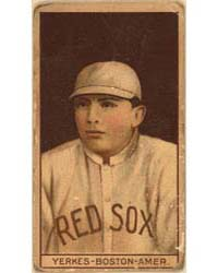 Stanley Yerkes, Boston Red Sox, Baseball... by American Tobacco Company
