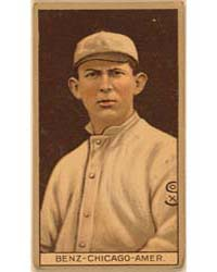 Joseph Benz, Chicago White Sox, Baseball... by American Tobacco Company