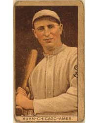 Red Kuhn, Chicago White Sox, Baseball Ca... by American Tobacco Company