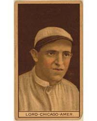 Harry Lord, Chicago White Sox, Baseball ... by American Tobacco Company
