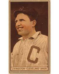 Paddy Livingston, Cleveland Naps, Baseba... by American Tobacco Company