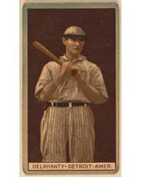 Jim Delahanty, Detroit Tigers, Baseball ... by American Tobacco Company