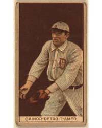 Del Gainer, Detroit Tigers, Baseball Car... by American Tobacco Company