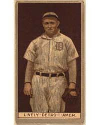 Jack Lively, Detroit Tigers, Baseball Ca... by American Tobacco Company