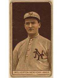 Harry Wolverton, New York Highlanders, B... by American Tobacco Company