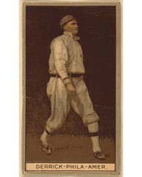 Claude Derrick, Philadelphia Athletics, ... by American Tobacco Company