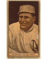 Rube Oldring, Philadelphia Athletics, Ba... by American Tobacco Company