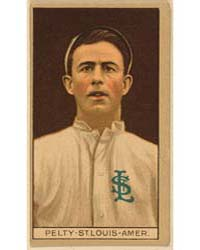 Barney Pelty, St. Louis Browns, Baseball... by American Tobacco Company