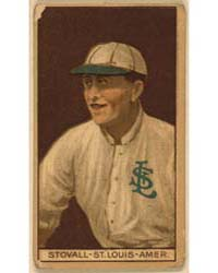 George Stovall, St. Louis Browns, Baseba... by American Tobacco Company
