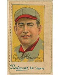 Roger Bresnahan, Chicago Cubs by Liggett & Myers Company