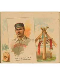 Geo. F. Miller, Philadelphia Alleghenys by Allen & Ginter
