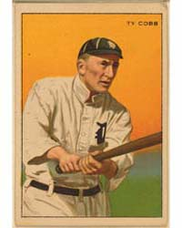 Tyrus Raymond Cobb, Detroit Tigers by Honest Long Cut and Miners Extra Brands