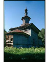 Brumfield Photographs : Log Church of St... by Brumfield, William Craft