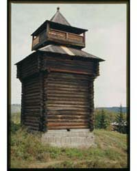 Brumfield Photographs : Log Fort Tower L... by Brumfield, William Craft