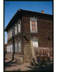 Brumfield Photographs : Log House Banzar... by Brumfield, William Craft