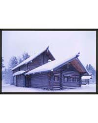 Brumfield Photographs : Log House from K... by Brumfield, William Craft